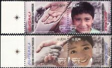 Guatemala 2006 Upaep/Poverty/Children/Hands/Face/Welfare/Health 4v set (n45701)