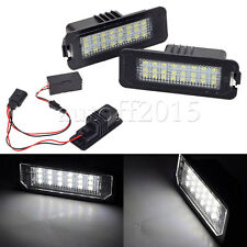 2x 24LED Error free 3528 SMD License Plate Light For VW GOLF MK4 MK5 MK6 PASSAT