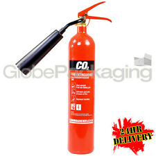 NEW 2KG CO2 CARBON DIOXIDE FIRE EXTINGUISHER WAREHOUSE OFFICE WORKSHOP 24HR DEL