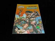 Conan album Artima Marvel géant : Conan : La cité des amazones