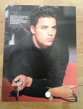 NICK KAMEN black sweater magazine PHOTO / Pin Up /Poster 11x8 inches