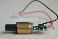 INDUSTRIAL/LAB 3VDC 532nm Green Laser 30mW Diode Module 13x48mm