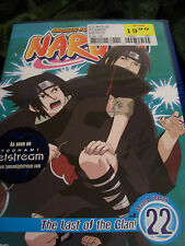 Naruto - Vol. 22: The Last of the Clan! (DVD, 2008, Dubbed)