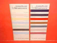 1959 AMC RAMBLER AMERICAN PANEL DELIVERY REBEL CUSTOM AMBASSADOR PAINT CHIPS SW