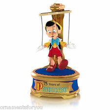 Hallmark 2015 Disney Pinocchio 75th Anniversary Magic Christmas Tree Ornament