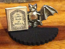 DOLLS HOUSE WITCH BAT BOOK STAND