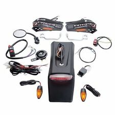 Suzuki DRZ 250 400E RMX450X Tusk Enduro Lighting Kit w/ Handguard Turn Signals