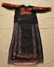 Antique hand embroidered Egyptian Bedouin Dress