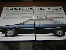 Lancia Delta Car of the year 1980 advert, Pioneer Car Stereo, Esso Superlube ad