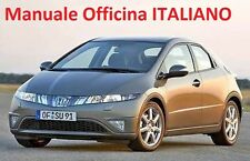 HONDA CIVIC 5D MANUALE OFFICINA RIPARAZIONE (2006/2012) in ITALIANO SU CD