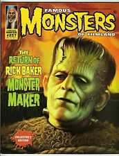 FAMOUS MONSTERS #257 SEPT/OCT 2011 MOVIELAND CLASSICS - RICK BAKER FRANKENSTEIN