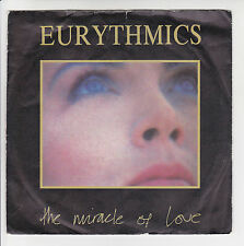 "EURYTHMICS Vinyl 45 tours 7"" THE MIRACLE OF LOVE -WHEN TOMORROW COMES -RCA 41021"