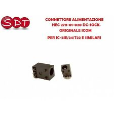 CONNETTORE ALIMENTAZIONE HEC 2711-01-020 DC-SOCK. ORIGINALE ICOM PER IC-2SE/24/T