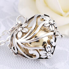 Chiming Baby Angel Caller Wind Chime Harmony Ball Pendants Necklaces for Women