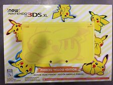 Nintendo 3DS XL Pokémon Pikachu Edition Yellow Handheld System