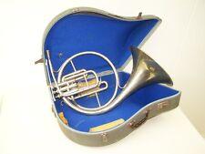schönes altes Horn im original Kasten F.Besson Excellence Paris