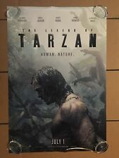 The Legend Of Tarzan Theater Original Movie Poster One Sheet DS 27x40