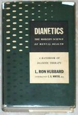 DIANETICS ~ L. RON HUBBARD ~ THE MODERN SCIENCE OF MENTAL HEALTH ~ VINTAGE HC