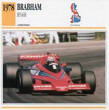 1978 BRABHAM BT46B Racing Classic Car Photo/Info Maxi Card