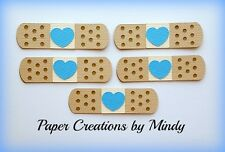 Craftecafe Mindy Bandaid Hospital Nurse premade paper piecing embellishment