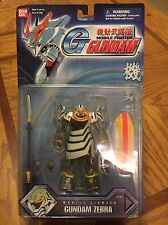 Bandai Mobile Fighter Zebra Gundam Action Figure MSIA Lot