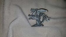 Rawcliffe Pewter Dragon with Green Jeweled Eyes