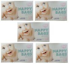 1000 bolsas de pañales desechables Perfumada Sacos Lazo Asas Perfumada Pañal del Bebé