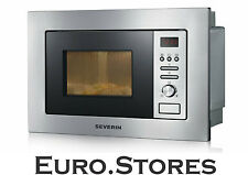 Severin MW 7880 Built-In Microwave Oven Grill Stainless Steel 800W  Genuine New