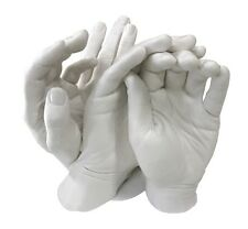 Family Hands Plaster Casting Kit.  Alginate, & 4kg of High Grade Plaster.