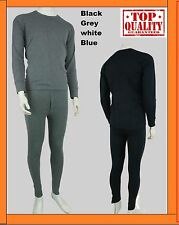 MENS THERMAL FULL SET LONG SLEEVE TOP SHIRT VEST & LONG JOHNS UNDERWEAR TROUSER