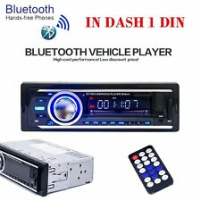 Bluetooth Car Stereo Audio 1DIN In-Dash FM Aux Input Receiver USB MP3 Radio 2126