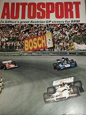 Zeltweg autrichien grand prix 1971 jo siffert brm P160 oesterreichring zeltweg
