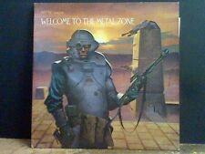 WELCOME TO THE METAL ZONE  Various   DBL  LP  Music For nations   Lovely copy !!