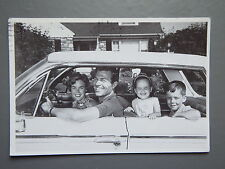 R&L Postcard: 1960's American Family in Classic Car, Radio Times Competition