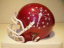 CUSTOM INDIANA HOOSIERS STATE FLAG ALTERNATE  SPEED MINI HELMET