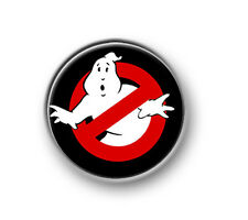 "GHOSTBUSTERS / 1"" / 25mm pin button / badge / film / movie / comedy / 1980's"