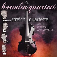CD Borodin Quartet Beethoven Shostakovich Streichquartette  2CDs