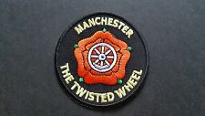 MOD SKA SCOOTER SEW ON / IRON ON PATCH:- MANCHESTER (a) THE TWISTED WHEEL SOUL