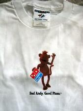 Bad Andy Domino's Pizza Advertising KIDS Child Size T-Shirt BadAndy NEW Original