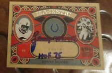 Lenny Moore Baltimore Colts Halfback NFL HOF signed autographed card Penn State
