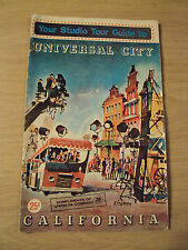 "VTG 1966 EARLY Tour GUIDE Booklet~""UNIVERSAL CITY""~Movie Making CA~Ephemera~"