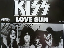 "KISS 45 RPM 7"" - Love Gun UNPLAYED W/SWEDEN SLEEVE"