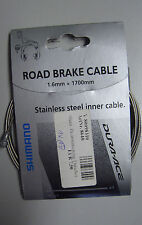 Shimano Road Brake cable 1,6mm x 1700mm bremsinnenzug dura ace y-80098310 (g85)