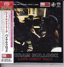 """Hiram Bullock - Late Night Talk"" Japan Venus Records Audiophile Jazz SACD CD"
