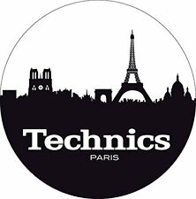 Technics 60613 PAIR Slipmat Skyline Paris High Quality Original / Brand New