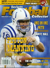 2003 Beckett Football Magazine: Peyton Manning - Colts