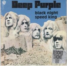 "Black Night / Speed King By Deep Purple Blue 7"" Vinyl Record RSD LTD 2015 NEW"