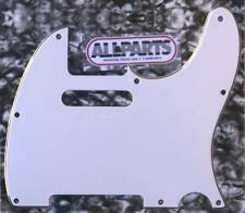 Allparts PG-0562-035 Telecaster® Pickguard White (W/B/W) - Made in USA