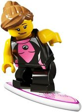 LEGO 8804 Surfer Girl Minifigure Series 4 New