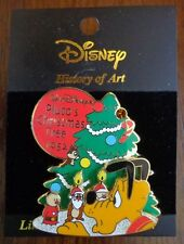 Disney Pin History of Art 2003 Pluto's Christmas Tree 1952 Chip and Dale